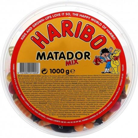 Haribo DK Matador Mix 1kg GER