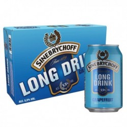 90x Sinebrychoff Long Drink Grapefruit 5,5% 24x33cl LV