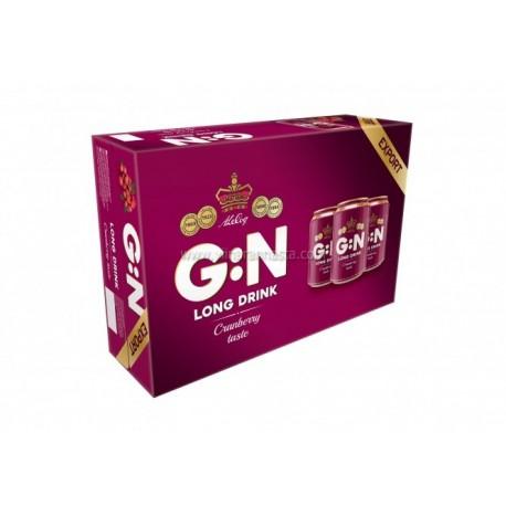 G:N Long Drink Cranberry 5,6%