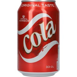 Harboe Cola 24x33cl GER