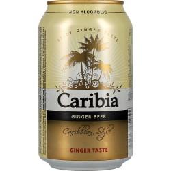 Caribia Ginger Taste 0% 24x33cl GER