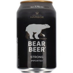 Harboe Bear Beer 7,7% 24x33cl GER