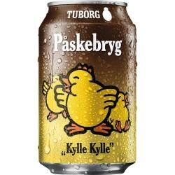 """Tuborg Easter Brew """"Kylle Kylle"""" 5,4% 24x33cl GER"""