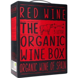 The Organic Wine Box Red Wine 14% 3l GER