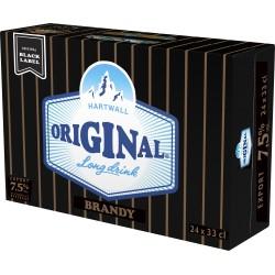 Hartwall Original Brandy 7.5% 24x33cl LV