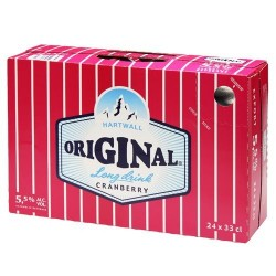 Hartwall Original Long Drink Cranberry 5,5%