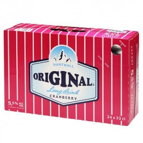 Hartwall Original Long Drink Cranberry 5,5%