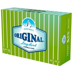 Hartwall Original Long Drink Lime 5,5%