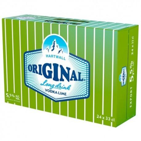 Hartwall Original Long Drink Lime 5,5%