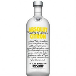 Absolut Citron 40% 100cl