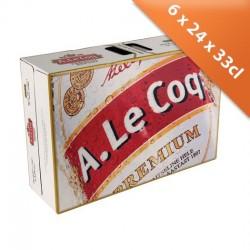 A. Le Coq Premium Export 5,2% 6x24x33cl